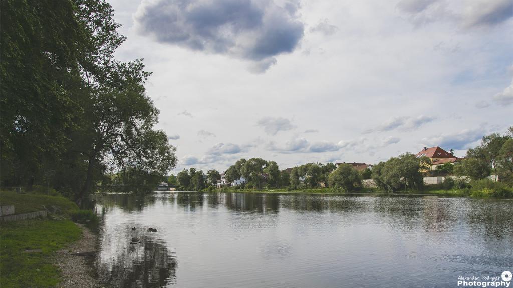 Regenfluss in Nittenau
