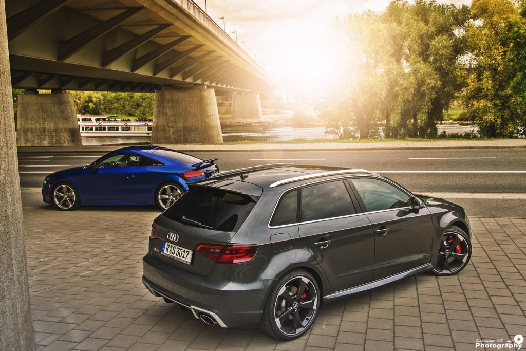 Audi RS3 und Audi TTRS plus