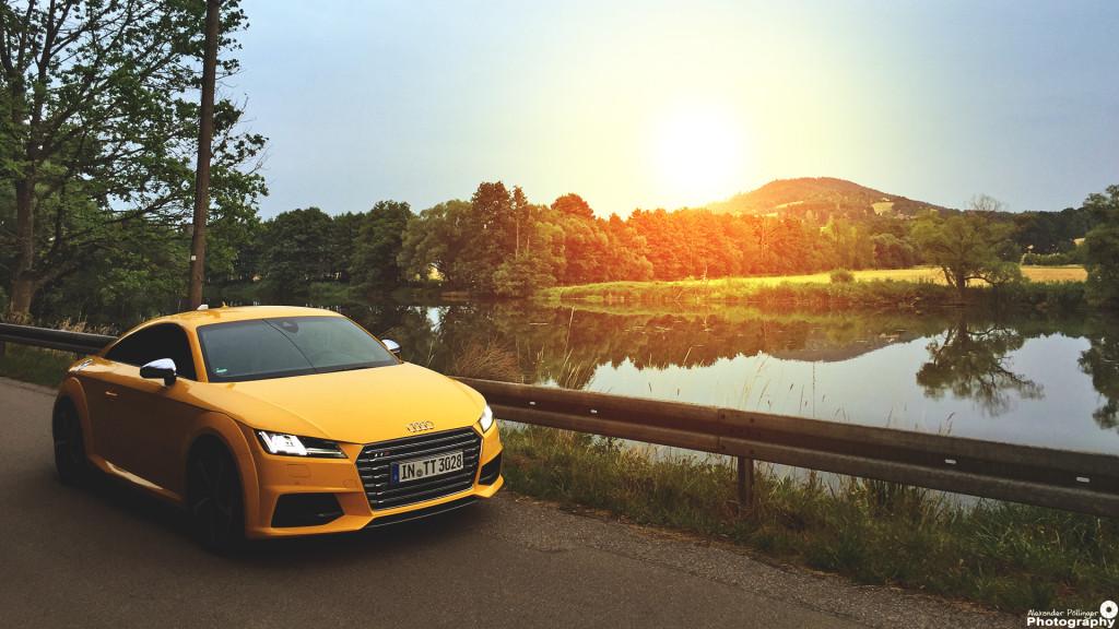 Audi TTS Sunset