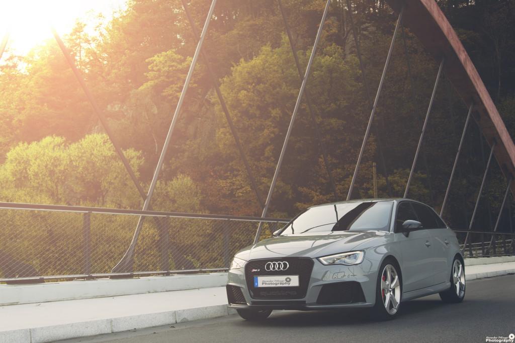 Audi RS3 Stefling Bruecke