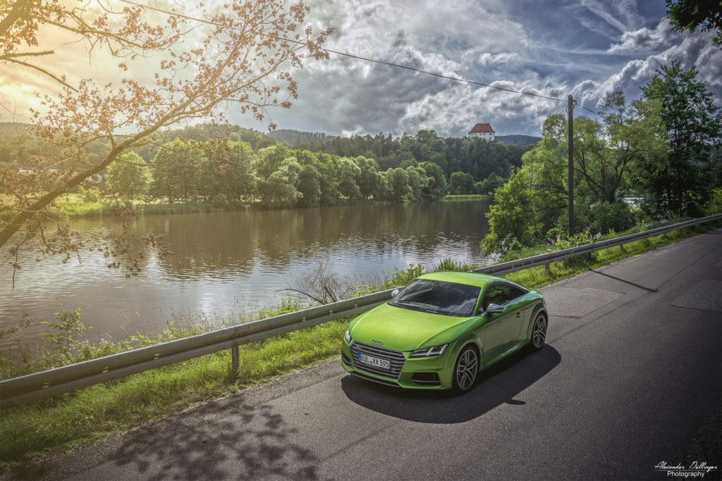 Audi TTS Javagrün