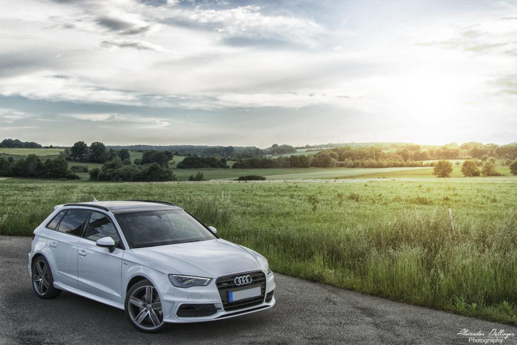 Audi A3 sportback ibiswhite