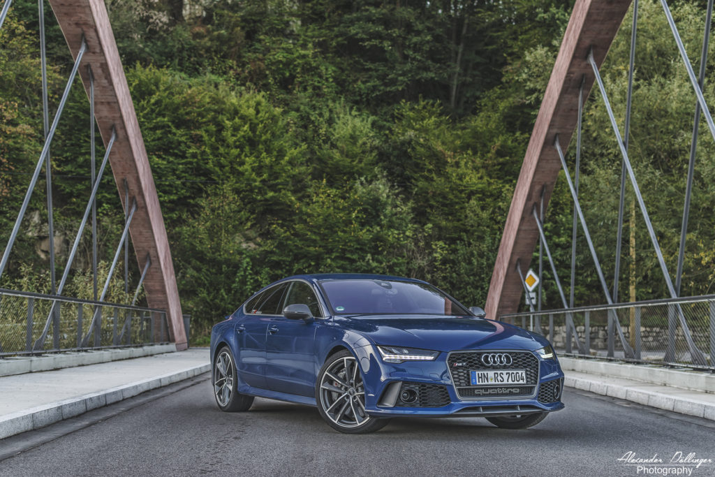 Audi RS7 Sportback performance ascariblue