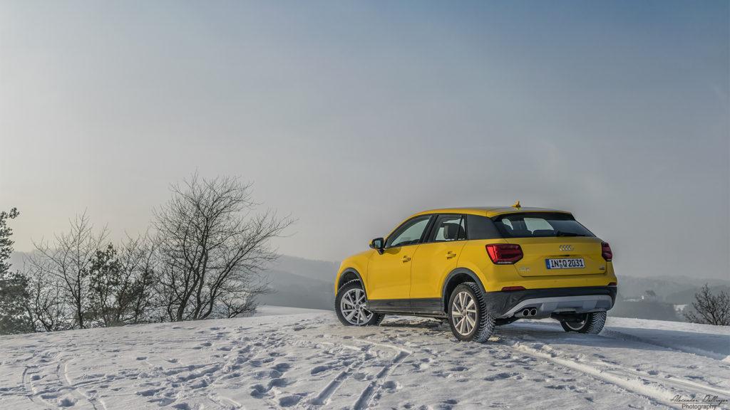 Audi Q2 Snow