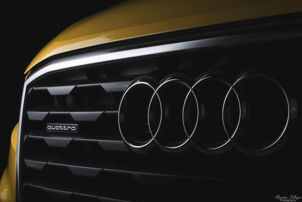 Audi Q2 Vegasgelb Front