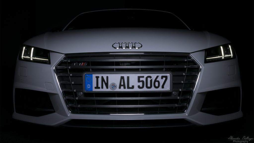 Audi TTS Roadster Gletscherweiss