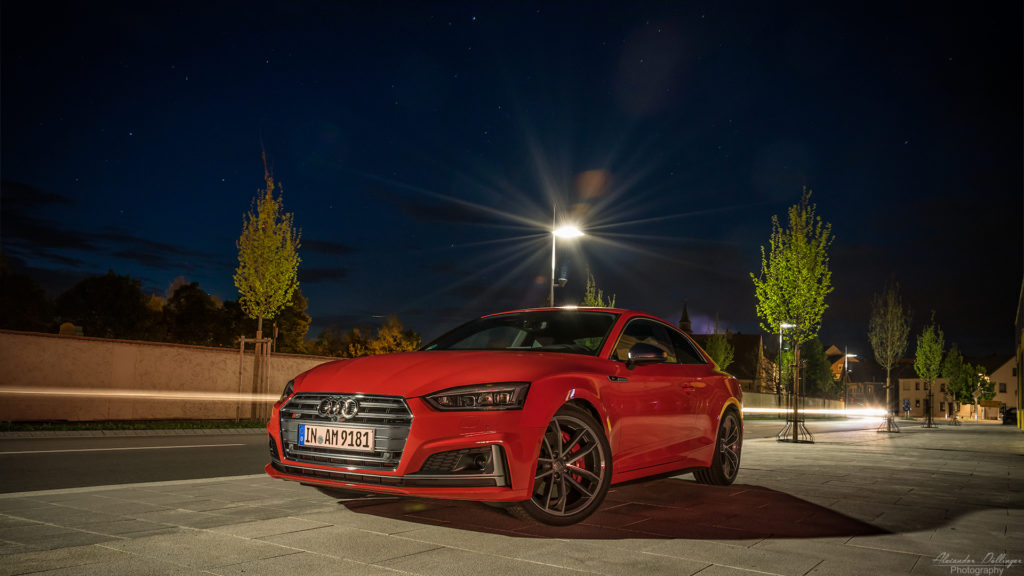 Audi S5 night