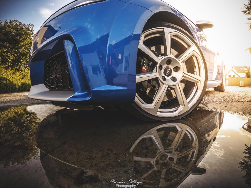 Audi TTRS Arablue