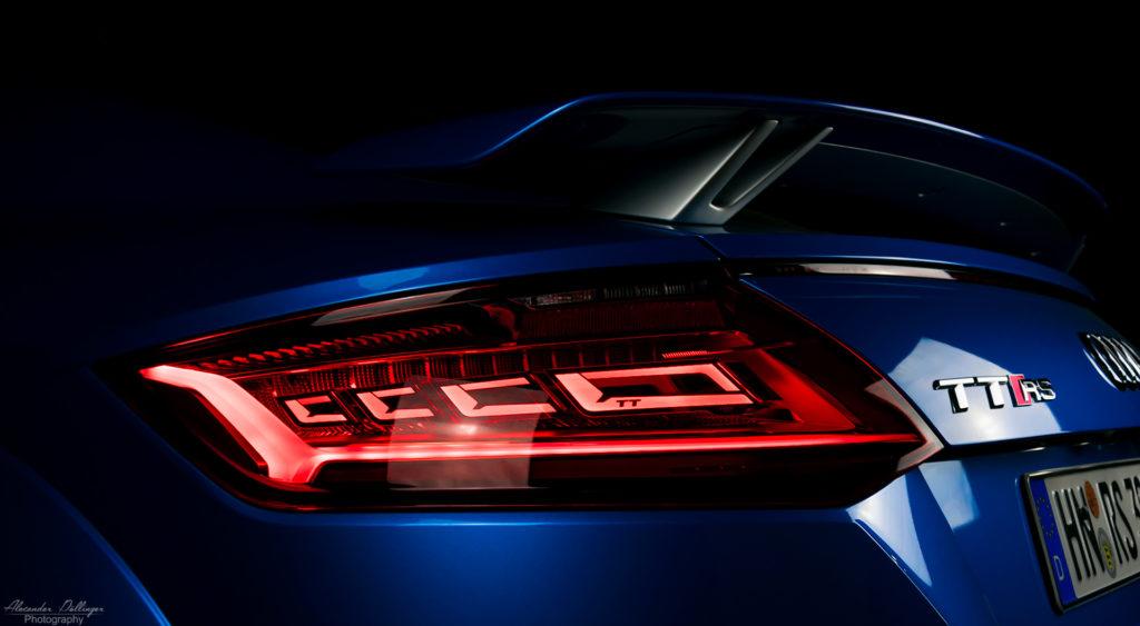 Audi TTRS OLED