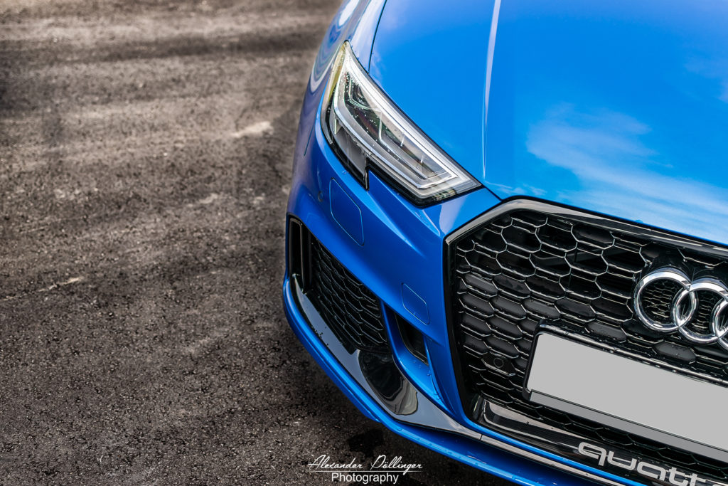 Audi RS3 Arablau