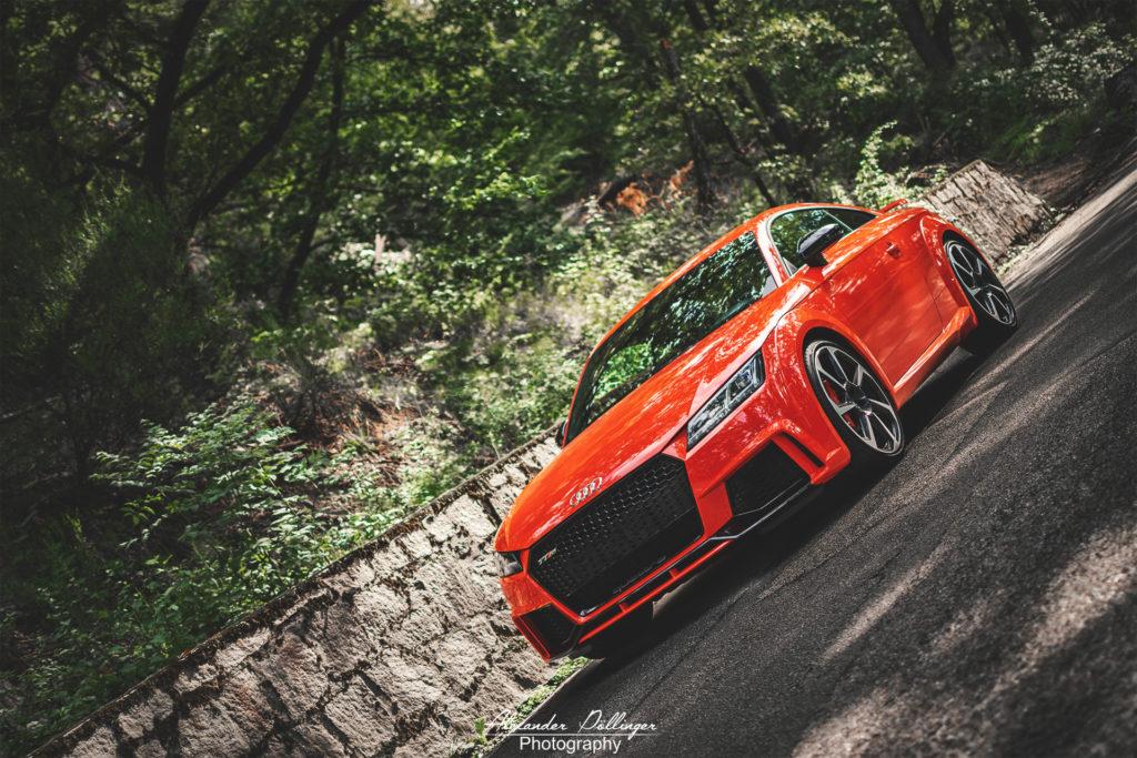 Audi TT RS Catalunya Red