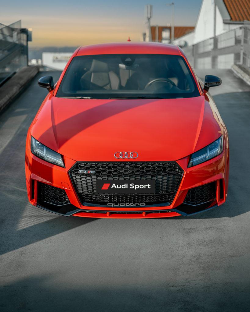 Audi TTRS Catalunyared