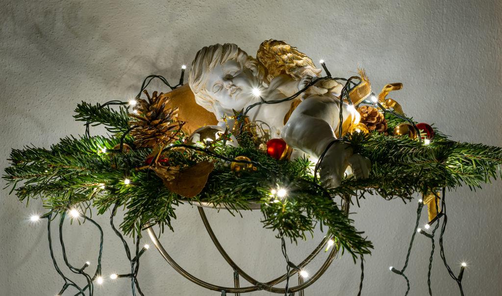 Weihnachtsdekoration Engel